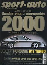 LOT de 12 n° SPORT AUTO 2000 du n°456 au n°467