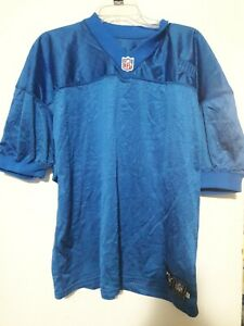 2000 Detroit Lions Blue Puma Tagged Blank Un Numbered Game Jersey Size 48