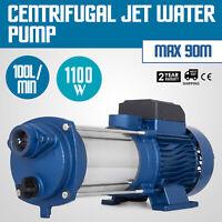 Pompa Centrifuga Elettropompa 1100W 1.5 HP 2850RPM in Acciaio inossidabile 230V