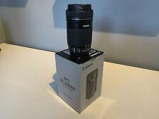 Canon EFS 55-250mm F/4-5.6 IS STM DSLR Lens Excellent boxed condition w/FAST DEL