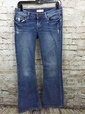 BKE Buckle Starlite Stretch Boot Cut Jeans Womens 28 x 31.5 (29 x 31) Distressed