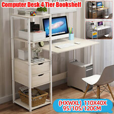 Computertisch Arbeitstisch Schreibtisch Bürotisch Bürotisch Tisch Büro mit Regal