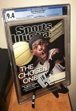 February 18, 2002 LeBron James First RC Sports Illustrated - NO LABEL WB CGC 9.4