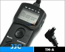 JJC Timer Remote Control With LCD Screen for Canon TC-80N3  5D MkII MkIII 50D 7D