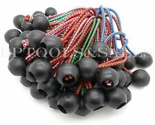 """(100) 6"""" Color Ball Bungee Cord Tarp Bungee Tie Down Strap Bungi Canopy Straps"""