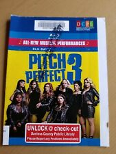 Pitch Perfect 3 Blu-ray Cover Art ONLY.