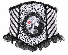Opus Skeletal Waist Cincher Womens Day Of The Dead Dia de los Muertos Gothic O/S