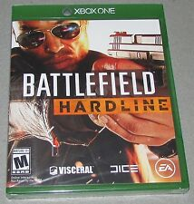 Battlefield Hardline for Xbox One Brand New! Factory Sealed!