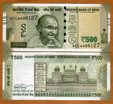 India, 500 Rupees, 2017, P-New, UNC > Replacement, Star Note