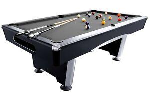 Billardtisch, Pool, Triumph, schwarz, 7 ft., 8 ft.