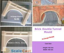 N-Scale Double Brick Tunnel Model Railway scenery - N05 - N Gauge