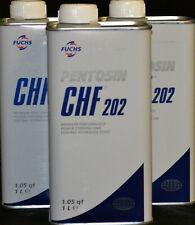 3x1 Liter PENTOSIN Hydrauliköl Servolenkungsöl CHF 202 Ford Opel VWPorsche Volvo