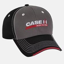 Case IH Chino Layered SandwichGray/Black/Red Men's Cap
