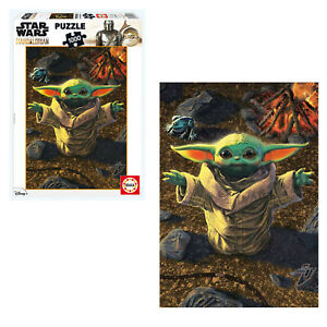 Baby Yoda Mandalorian Puzzle 1000 piece Star Wars Jigsaw Puzzle NEW