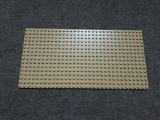 LEGO 6 x plaque de base Beige Tan Plate 2x16 4282 6030980
