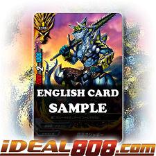 Buddyfight x 4 Aloof Jaggy [X-BT01A-CP01/0046EN C] English Mint Future Card
