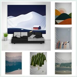Poster Abstract Minimalist Tapestry Art Wall Poster Hanging Sofa Table Cover