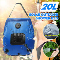 20L Portable Shower Heating Pipe Bag Solar Water Heater Outdoor Camping Bag B -