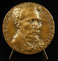 Medal Theodore Géricault Inspiration Mazeppa on Sound Horse Ch Auffret Medal
