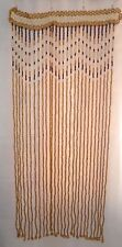 AMAZING Beaded Wooden window door room Curtain handmade in Western Ukraine