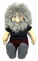 "Vintage JERRY GARCIA Stuffed Doll 18"" GUND Liquid Blue 1998 Grateful Dead"