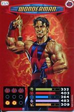 Spiderman Heroes And Villains Card #214 Wonderman