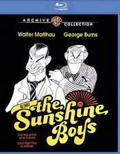The Sunshine Boys (Blu-ray Disc, 2015) George Burns Walter Matthau