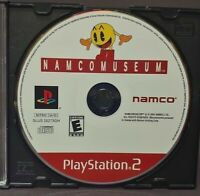 Namco Museum Pac-Man -  Sony Playstation 2 PS2 Game Lot Tested / Working
