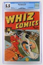 Whiz Comics #4 (#3) - CGC 5.5 FN-  -Fawcett 1940- Captain Marvel!!