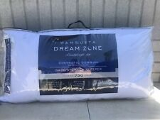 New King Wamsutta Dream Zone Back/Stomach Synthetic Down Pillow 750 TC