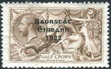 IRELAND-1922-23 2/6 Chocolate-Brown. A mounted mint example Sg 64