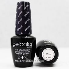 OPI GelColor GC B61 OPI INK. 15mL/ 0.5oz UV LED Gel Polish Violet-Blue Color