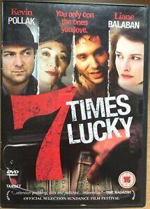 Sept Times Lucky DVD 2004 Con Artiste Crime Drame Avec Kevin Pollak