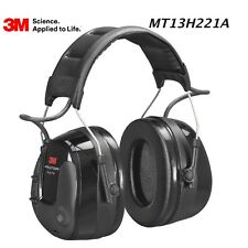 3M™ PELTOR™ ProTac™ III Headset, 32 dB, Black, Headband, MT13H221A