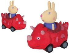 Peppa Pig Mini Buggy Richard Rabbit in Dinosaur Vehicle Brand New #435