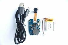 Mate808 3cm 120° Lens DVR HD 1080P DIY Module Car Keychain Cam PCB Motion Detect