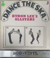 Byron Lees Allstars- Dance The Ska Vol.3 Rare Vinyl Record NEAR MINT CON