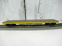 Vintage Life Like HO Trailer Train 50' Flat Car #97566