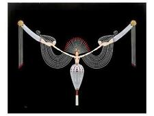 """Erté Serigraph """"The Necklace"""" Hand signed and numbered 1987, Mint Condition"""