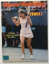 TRACY AUSTIN September 17, 1979 Sports Illustrated Magazine - No Label