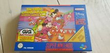 ♕* Super Nintendo * The Great Circus Mystery Mickey * SNES * NEW * UK version! *