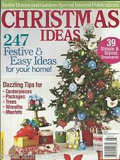 Christmas Ideas magazine Ornaments Centerpieces Packages Trees Wreaths Mantels