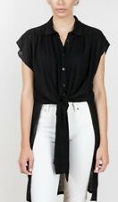 RACHEL COMEY Canna Top in Black Size 4. Perfect Condition.
