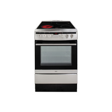 Amica 608CE2TAXX 60cm Single Fan Oven Electric Cooker Ceramic - Stainless Steel