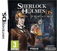 SHERLOCK HOLMES DS  :  LE SECRET DE LA REINE              -----   pour DS