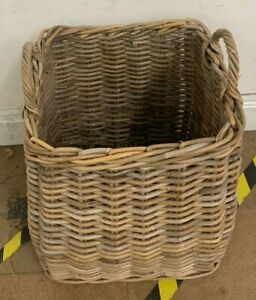 Large Wicker Basket USED Good Condition (HC)