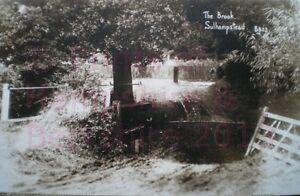 PRINT 10 X 7  THE BROOK SULHAMPSTEAD BERKSHIRE c1912