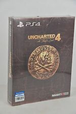 PS4 Uncharted 4 A Thief's End (HK Chinese + English Special Steelbook Edition)