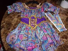 CURTAIN CALL GIRLS DANCE COSTUME/DRESS UP OR PLAY LEOTARD CME
