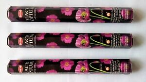 Hem Black Opium Scent Incense Sticks 60-Stick Free Shipping